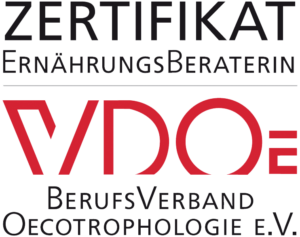 Zertifikat Ernährungsberaterin VDOE